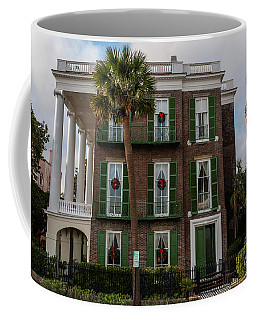 Roper Mansion In December Coffee Mug