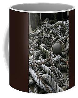 Ropes And Lines Coffee Mug