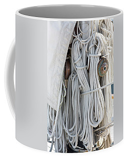 Ropes Of A Sailboat Coffee Mug
