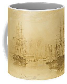 Ropewalk At Wapping, West Indiaman Union On Left, 1826  Coffee Mug