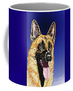 Rorie The Red King In Blue Coffee Mug