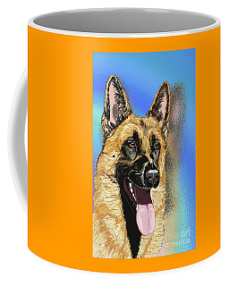 Rorie The Red King In Blue Mirror Coffee Mug