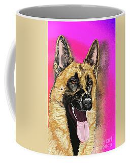 Rorie The Red King In Pink Mirror Coffee Mug