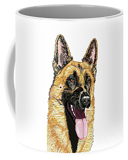 Rorie The Red King Portrait Coffee Mug