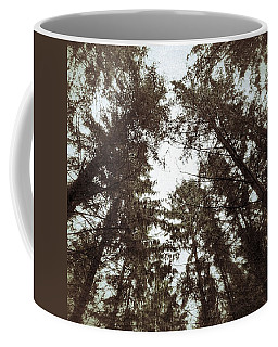 Rorschach Trees Coffee Mug by Karen Stahlros