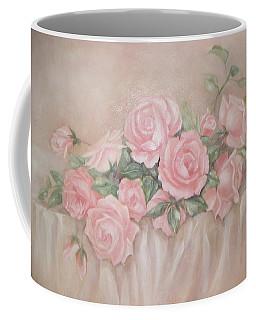 Rose Abundance Painting Coffee Mug by Chris Hobel