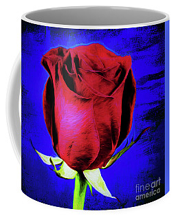 Rose - Beauty And Love  Coffee Mug by Ray Shrewsberry