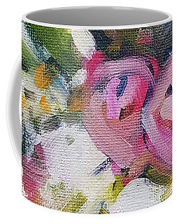 Rose Bouquet Flower Color Spring Coffee Mug