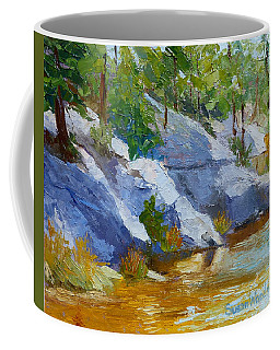 Rose Canyon Lake Coffee Mug