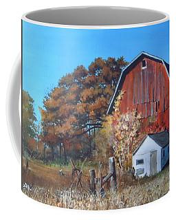 Rose Center Barn Coffee Mug