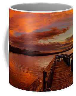Rose Colored Classes Coffee Mug by David Smith