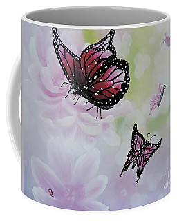 Rose Colored Glasses Coffee Mug by Dianna Lewis
