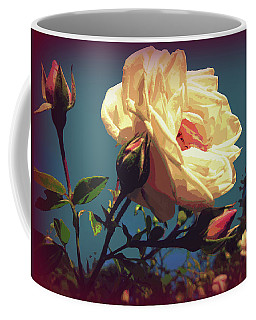 Rose Facing The Sun Coffee Mug by Susan Lafleur