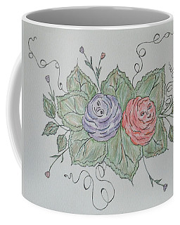 Rose Family Pose Coffee Mug