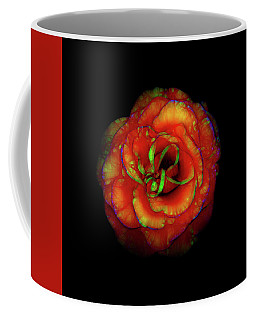 Rose Flower Color Abstract Coffee Mug