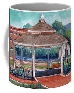 Rose Garden Gazebo Coffee Mug