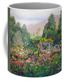 Rose Garden In Bloom Coffee Mug