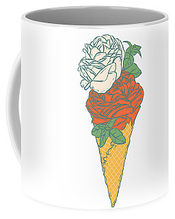 Rose Ice Cream Coffee Mug