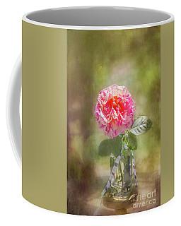 Rose In A Jar Coffee Mug