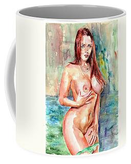 Rose In The Lake Coffee Mug
