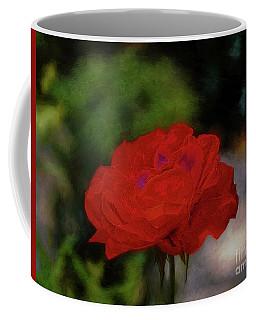 Rose Coffee Mug by John Kolenberg