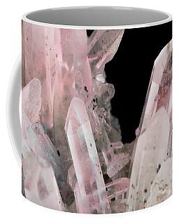 Rose Quartz Crystals Coffee Mug