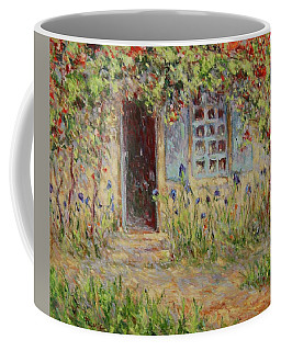 Rose Trees At The Front Of The House Coffee Mug