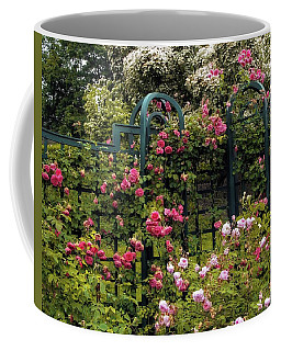 Rose Trellis Coffee Mug