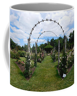 Rose Trellis To Gazebo Coffee Mug