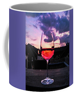 Rose Wine Coffee Mug