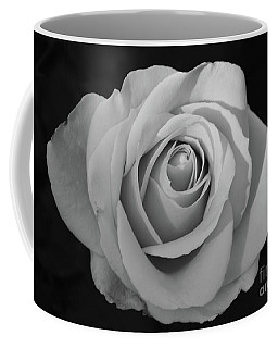 Coffee Mug featuring the photograph Rose Without Color by Cindy Manero