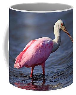 Roseate Spoonbill, Myakka River State Park, Florida Coffee Mug