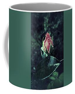 Rosebud Rain Drops Coffee Mug