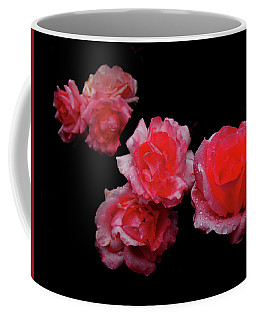 Roses And Rain Coffee Mug