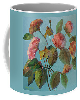 Roses And Wildflowers Coffee Mug