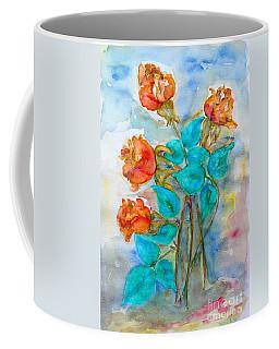 Roses Buds Coffee Mug by Jasna Dragun