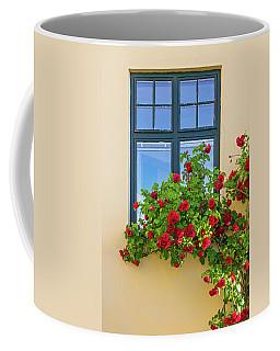 Roses Decorating A House Coffee Mug