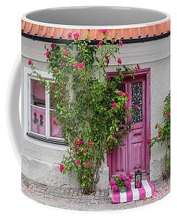 Roses Decorating The House Entrance Coffee Mug