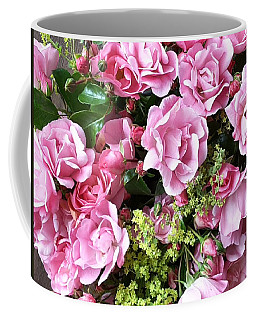 Roses From The Garden Coffee Mug