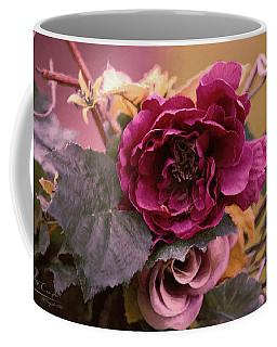 Roses In Oils Coffee Mug