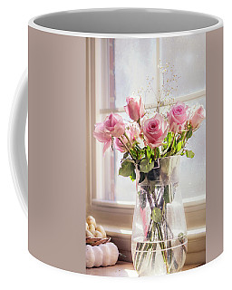 Roses In The Kitchen Coffee Mug