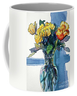Roses In Vase Still Life I Coffee Mug