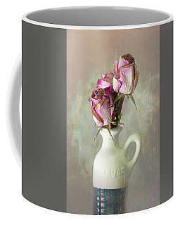 Roses In Vinegar Bottle Coffee Mug