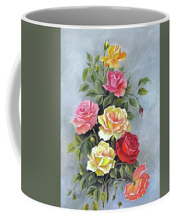 Roses Coffee Mug by Katia Aho