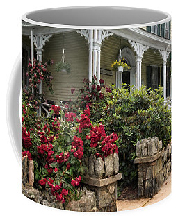 Coffee Mug featuring the photograph Roses On Hope Street by Robin-Lee Vieira