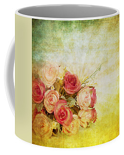 Roses Pattern Retro Design Coffee Mug