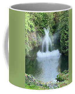 Butchart Gardens Ross Fountain Coffee Mug