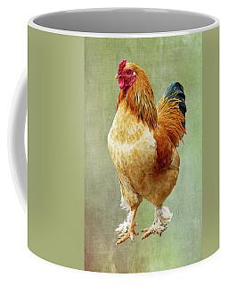 Otis T Rooster Coffee Mug by Elijah Knight