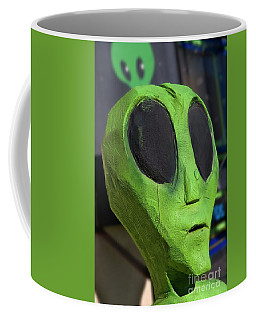Roswell Alien Coffee Mug by Bob Pardue