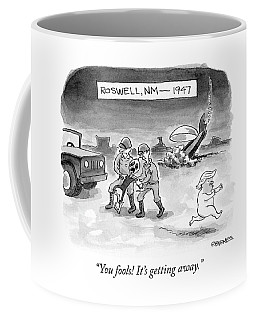 Roswell Nm 1947 Coffee Mug